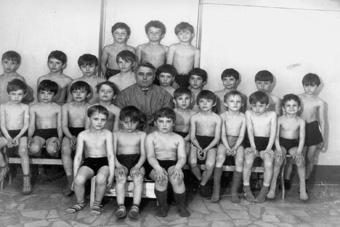 Алексей Куприков с первыми учениками
