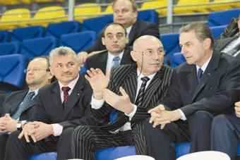 Жак Рогге, Давид Рудман, Сергей Елисеев
