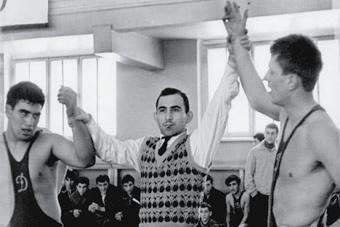 """Чемпионат """"Динамо"""" по вольной борьбе. Грузия, 1962 г."""