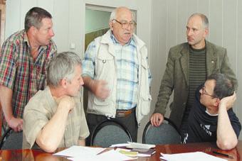 Тренерский штаб Брянска