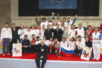 Сборная России на Чемпионате мира в Болгарии