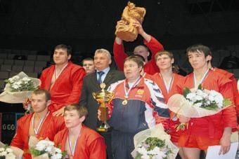 Победители командного чемпионата России