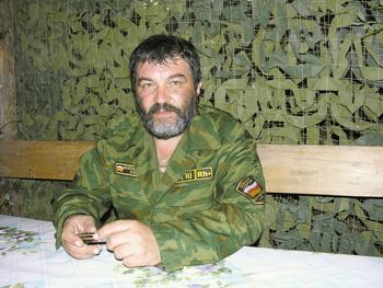 Капитан Маирбек Плиев, Южная Осетия