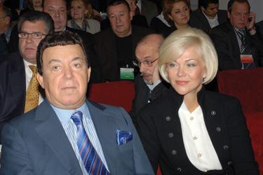 С И.Д. Кобзоном, 2008 г.