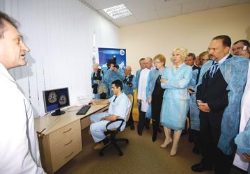 С М.А. Менем в Лечебно-диагностическом центре г. Иваново, 2009 г.