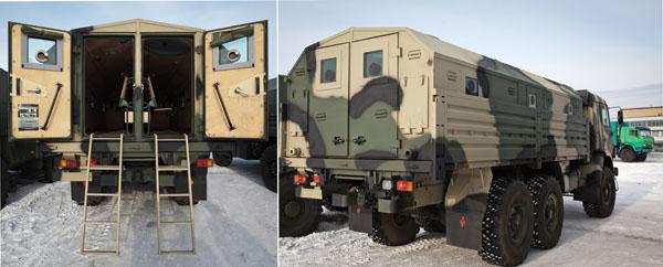 Бронеавтомобиль IVECO M65 (LMV) (в итальянской армии — Lince, или «Рысь») был создан в 2001 году. Обеспечивает противопульное круговое бронирование, защиту от осколков и мин.