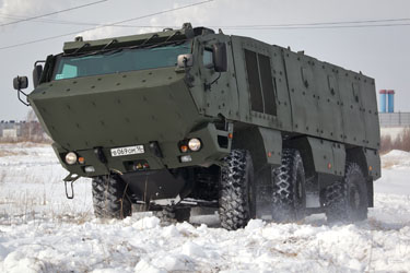 «КамАЗ» семейства «Тайфун-К» — проект нового бронеавтомобиля, созданного на базе шасси «КамАЗ-4310»